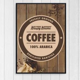 Krispy Kreme Poster Design