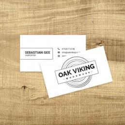 Oak Viking Business Card