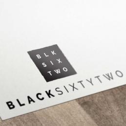 BlackSixtyTwo Logo Design
